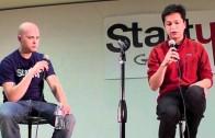 Pinterest CEO, Ben Silbermann, speaking at Startup Grind