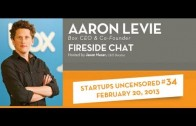 Aaron Levie, CEO of Box talks with Jason Nazar