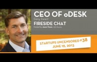Gary Swart, CEO of oDesk talks with Startups Uncensored