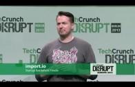 'Import.Io' Startup Battlefield Europe 2013 Finalist