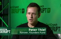 Peter Thiel video interview at Techcrunch Disrupt 2014