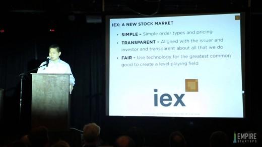Keynote – Brad Katsuyama, IEX – 2015 FinTech Startups Conference